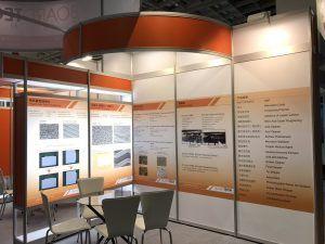 玖陽視覺 南港世貿活動佈置 大圖輸出 貼圖施工