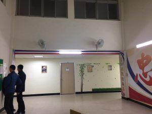 玖陽視覺 牆面 大圖輸出 貼圖施工