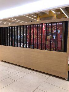 玖陽視覺 積木玩樂天堂佈置 大圖輸出 貼圖施工