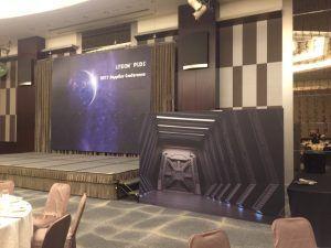 玖陽視覺 國賓飯店活動會場佈置 大圖輸出 貼圖施工
