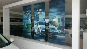 玖陽視覺 福斯門市 大圖輸出 貼圖施工