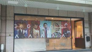 玖陽視覺 玻璃櫥窗 大圖輸出 貼圖施工