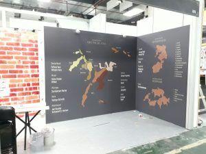 玖陽視覺 世貿三館台北葡萄酒展 大圖輸出 貼圖施工