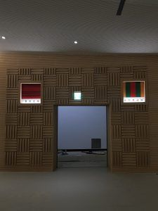玖陽視覺 原住民文化館 大圖輸出 貼圖施工