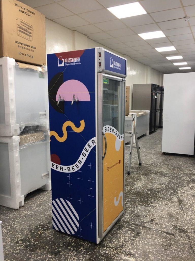 [玖陽視覺]冰箱美化 大圖輸出 貼圖施工