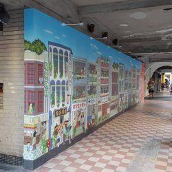 玖陽視覺 戶外牆面美化 大圖輸出 貼圖施工