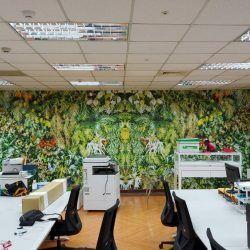 玖陽視覺 辦公室美化 大圖輸出 貼圖施工