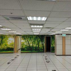 玖陽視覺 辦公室牆面美化 大圖輸出 貼圖施工