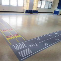 玖陽視覺 跑道地貼 大圖輸出 貼圖施工